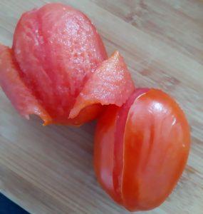 Escaldar tomate