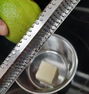 Espárragos al limón