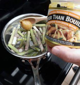 sopa de espárragos